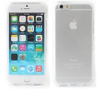 Full Body Front and Back Transparent Hard Back Case for iPhone 6