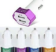 ES-04 Car Charger with 2-Port USB Hub for iPhone 6 iPhone 6 Plus and Other Cellphones (5V 1A/2.1A)