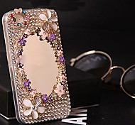 5.5  Inch Luxury Mirror Surface Models with Diamond Hard Back Cover for iPhone 6 Plus