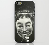 caso duro del patrón de la máscara de gorila para el iphone 6