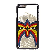 The Face Pattern Aluminum Hard Case for iPhone 6