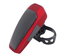 ungrol 10 ha condotto il modo flash automatico rosso bici ricaricabile intelligente avvertimento fanale posteriore