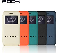 ROCK Ultra-Thin Protection Holster Windows Smart Case for  IPhone 6 plus 5.5(Assorted Colors)