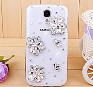 Diamant-Juwel Blume Hülle für Samsung Galaxy S4 Mini i9190