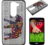 Color the Elephant Pattern PC Hard Case for LG G2 mini
