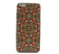 Folk Totem Plastic Hard Back Cover for iPhone 6