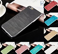 DSD® Ultra Thin Brushed Skin PC Hard Back Case Cover for iPhone 6 Plus (Assorted Colors)