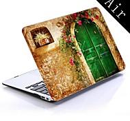 diseño de la casa pintoresca de todo el cuerpo caja de plástico protectora para el de 11 pulgadas / 13 pulgadas de aire nuevo macbook