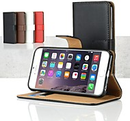 MAYCARI® Creditcard Wallet PU Leather Case for iPhone 6 (Assorted Colors)