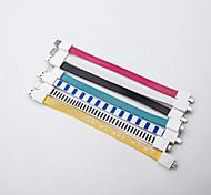 Universal Bracelet Big Noodles Style Magnet Micro USB Data Charging Cable  (19cm) Random Color