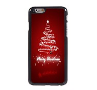Christmas Tree Design Aluminum Hard Case for iPhone 6