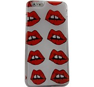 Pretty Mouth Plastic Hard Back Cover for iPhone 6