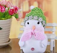 Small Gift Christmas Ornaments Snowman Widgets(Random Color)