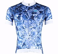 PALADIN Bike/Cycling Tops Men's Short Sleeve Breathable / Ultraviolet Resistant / Quick Dry 100% Polyester BlueS / M / L / XL / XXL /