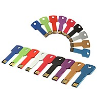 32GB Key Type USB Flash Drive with Chain Hole (Assorted Colors)