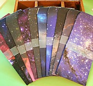 Starry Sky Pattern Envelope Set(5 PCS/Set)