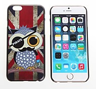 NIGHT Owl  Design Premium Protective Cover On Protective Hard Shell Back Case For iPhone 6
