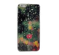 gotas de tapa dura de plástico de agua para iPhone 6