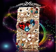 Love  Models with  Diamond Hard Back Cover for iPhone 4 /  iPhone 4S