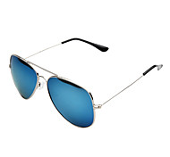 Sunglasses Men / Women / Unisex's Retro/Vintage / Fashion / Aviator / Polarized Flyer Blue Sunglasses Full-Rim