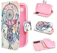 The Ferris Wheel Design Leather Case Cover with Stand and Card Slot for LG L40 D160