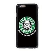 Forth Be with You Design Aluminum Hard Case for iPhone 6 Plus