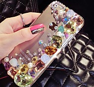 4.7 Inch The New Shining Color  with Diamond Hard Back Cover for iPhone 6 (Assorted Colors)