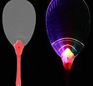 el ventilador colorido parpadeo (colores al azar)