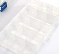 Multi-functional 15 Compartment jewelry Storage Box  P1200