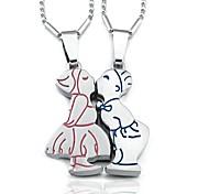 Целующиеся пары ожерелье