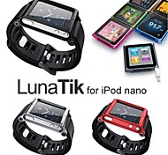 LUNATIK Bracelet Watch Band Wrist Strap for iPod Nano 6 Case (Assorted Colors)