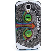 Big Face Cat Pattern Back Case Cover for Samsung Galaxy S4 I9500