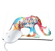 elonbo castello elefanti PU antiscivolo mouse mousepad pad