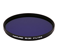 Nature 80B 55mm Color Correction Filter