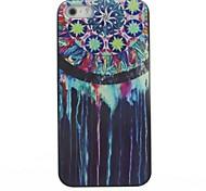 caso duro del patrón atrapasueños pigmento azul para el iphone 5 / 5s