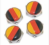 DIY немецкий болт флаг шаблон лицензии универсальный металлическая пластина колпачки для автомобиля