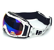 HB Water Lines Frame Double Lens Anti UV Snow Googgles