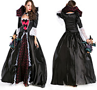 Bloody Vampire Black Terylene Carnival Party Costume