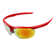 Sunglasses Men's Lightweight / Sports / Fashion Wrap Black / White / Yellow / Red / Blue / Green / Gray Sunglasses Half-Rim