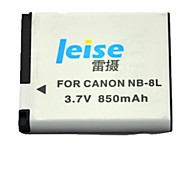 Leise® 850mAh 3.7V Digital Camera Battery for Canon A3000/A3100/A3300/A3200/A2200