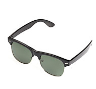 Polarized Browline Nickel Alloy Fashion Sunglasses