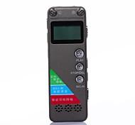 8gb de alta definição digital de voz ditafone gravador de som profissional com mp3 e armazenamento