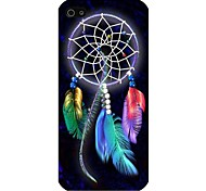 Colorful Dreamcatcher Pattern Back Case for iPhone5/5S