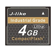 J-Like® CompactFlash Card Industrial Grade 4GB Memory Card Ultra-MLC Chip