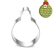 Weihnachtsdekoration Blase Kugelform Ausstecher, l 7.6cm 6.6cm x B x H 2 cm, Edelstahl