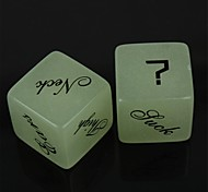 Large Acrylic Fun Dice - (2 PCS)