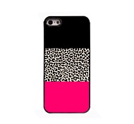 Leopard Print Design Aluminium Hard Case for iPhone 4/4S