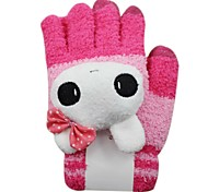 Qianjiatian®Rabbit Touch Gloves for Mobile Phones