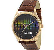 Customized JUST2YOU Citizen Movement Color Ultrasonic 2  Watch