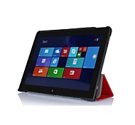 """pajiatu pu grano di seta del basamento del cuoio di protezione della pelle della copertura di caso per il Lenovo ThinkPad 10 10.1 """"tablet pollici"""